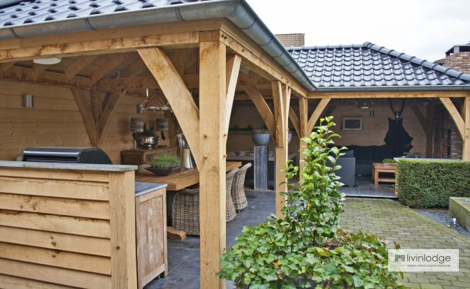 Annexe en chêne à Etten-Leur, Pays-Bas