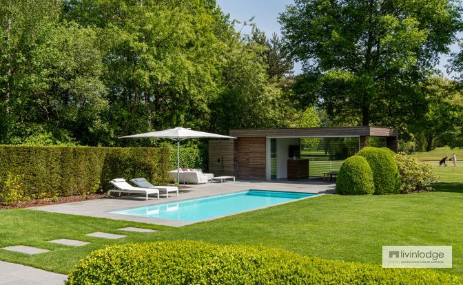 Pool house moderne Brabant flamand | Livinlodge