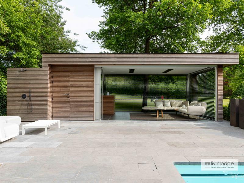 Moderne poolhouse Vlaams-Brabant | Livinlodge