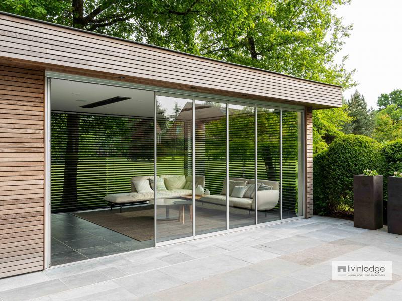Moderne poolhouse in Vlaams-Brabant | Livinlodge