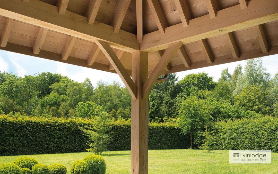 Terrasse couverte chêne
